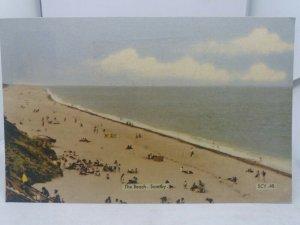 Vintage 1960s Friths Postcard The Beach Scratby Norfolk