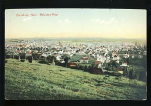 Amesbury, Massachusetts/MA/Mass Postcard, Birdseye View