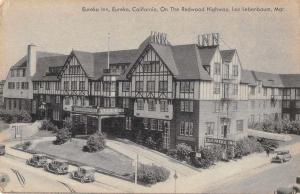 Eureka California Eureka Inn Exterior View Humboldt County Postcard J70293