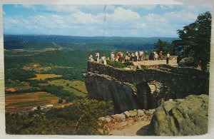 Lover's Leap Rock City. Lookout Mountain Chattanooga Tennessee Vintage Postcard