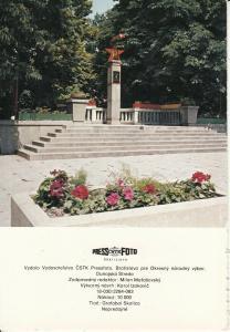 Slovakia Samorin memorial
