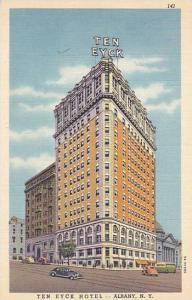 Exterior, Ten Eyck Hotel, Albany, New York, 00-10s