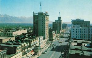 Postcard Main Street Salt Lake City Utah