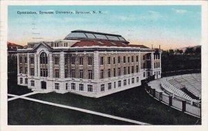 Gymnasium Syracse University Syracuse New York 1933