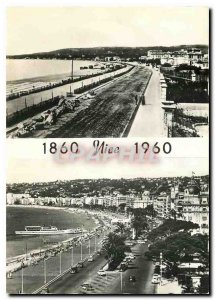 Modern Postcard Centennial Reunion from Nice to France
