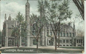 Cambridge, Mass., Gore Hall