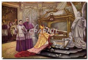 Old Postcard Front hunting Ste Therese of Jesus & # 39lenfant September 30, 1...