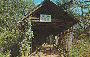 Duck Springs Covered Bridge Keener Alabama