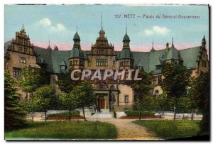 Old Postcard Metz Palace Governor General