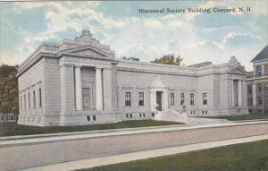 New Hampshire Concord Historical Society Building
