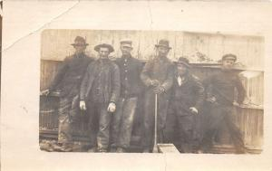 F9/ Occupational Real Photo RPPC Postcard c1910 Work Crew Factory 3