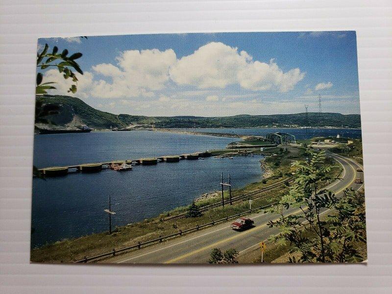 VTG Postcard Canso Causeway Cape Breton Island Nova Scotia Canada 1990   396