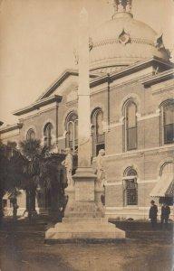 RP: TAMPA , Florida , 1900-10s ; Confederate Monument