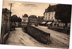 CPA Le Lot Pittoresque - GOURDON - Tour de Ville (223476)