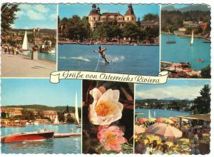 Austria, Grusse von Osterreichs Riviera, used Postcard
