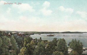 BURLINGTON, Vermont, 1900-10s; Bay