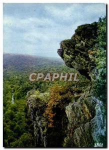 Postcard Modern Rock d & # 39Oetre overlooking empty