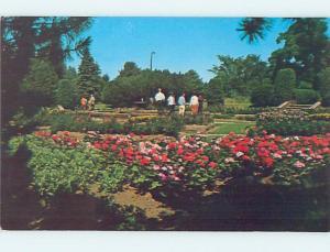 Unused Pre-1980 FLOWER GARDEN AT PRISON JAIL Marquette Michigan MI hn7998