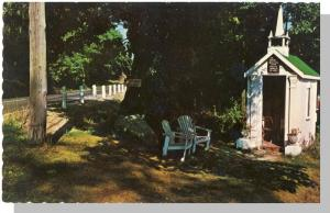 Wiscasset, Maine/ME Postcard, Smallest Church In The World