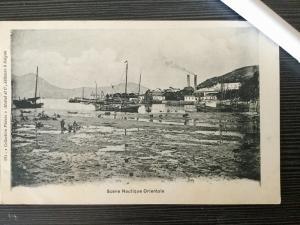 Saigon, Scene Nautique Orientale, Ships, 1910