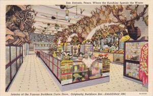 Interior Of The Famous Buckhorn Curio Store San Antonio Texas