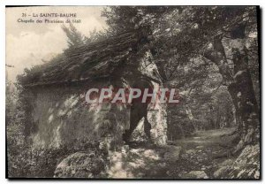 Old Postcard La Sainte Baume 1660 Pharisees Chapel