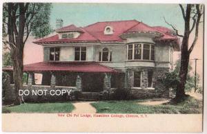 New Chi Psi Lodge, Hamilton College, Clinton NY
