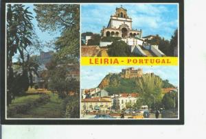 Postal 014396: Vistas varias de Leiria, Portugal