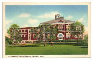 1945 Lockwood General Hospital, Petoskey, MI Postcard