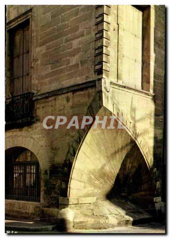 Postcard Modern Montpellier Herault Hotel Coquille