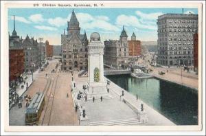 Clinton Square, Syracuse NY