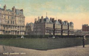 HOVE, UK, 1900-1910´s; King´s Gardens