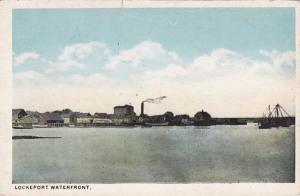 Waterfront at Lockport NY, New York - or Lockeport, Nova Scotia ? - WB