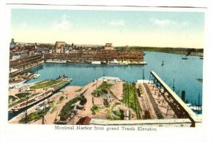 Montreal Harbor from grand Trunk Elevator, Montreal, Quebec, Canada, 00-10s