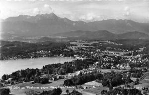Austria Velden am Woerthersee gegen Mittagskogel Kaernten echt photo panorama