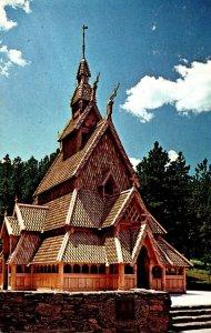 South Dakota Rapid City Chapel In The Hills 1980