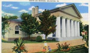 VA - Arlington, Curtis Lee Mansion
