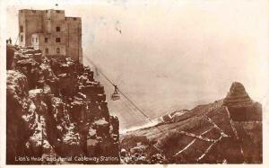 South Africa Cape Town, Lion's Head and Aerial Cableway Station, Cable Car 1939