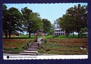TN Loretta Lynn Home HURRICANE MILLS TENNESSEE TENN