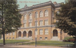 PAWTUCKET , Rhode Island, 1900-10s ; High School