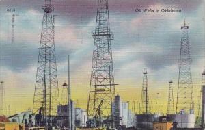 Oklahoma City Oil Wells In Oklahoma 1948