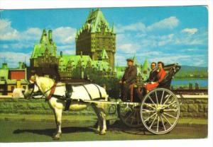 Caleche Tour , Quebec , Canada, 50-60s