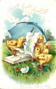 Tucks Easter Post Cards Loving Easter Greetings 1907