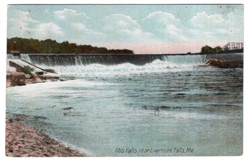 Otis Falls near Livermore Falls, Me