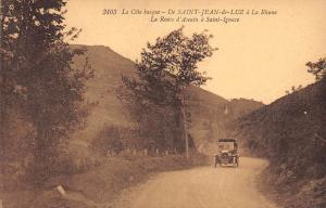 France Cote basque, Saint-Jean-de-Luz, La Rhune, Saint-Ignace, car voiture CPA