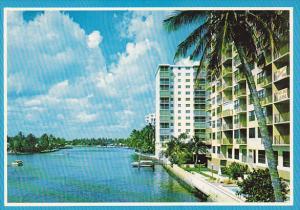 River Scene Pompano Beach Florida