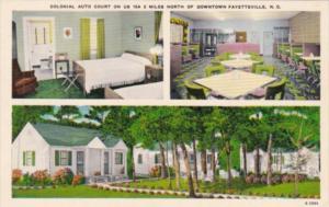 North Carolina Fayetteville Colonial Auto Court