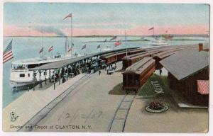 Docks & Depot, Clayton NY / Tuck's 2609