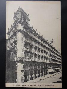 Old PC Spain: Madrid 'GRAND HOTEL' Arenal 19 y 21