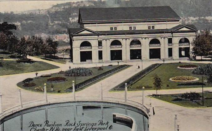 West Virginia Chester Dance Pavilion Rock Springs Park